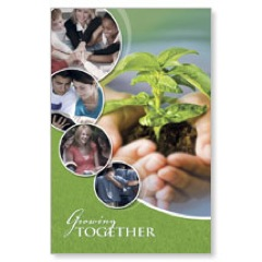 Growing Together Postcard