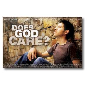 Does God Care Postcards