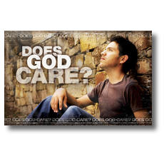 Does God Care Postcard