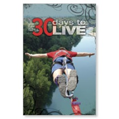 30 Days to Live Postcard