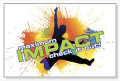Maximum Impact Youth Postcard