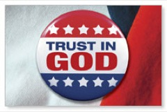 Trust In God Postcard