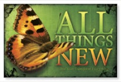 All Things New Postcard