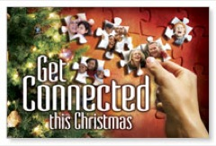 Christmas Connected Postcard