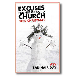 Excuses Bad Hair Postcards