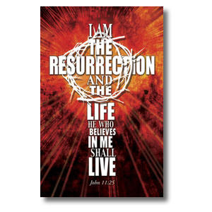 I am the Resurrection Postcards