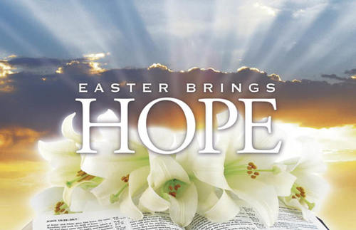 Undefined, Easter, Easter Brings Hope, 5.5 X 8.5