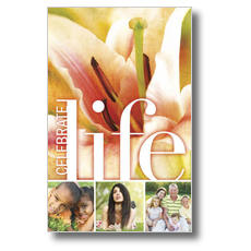 Celebrate Life Postcard