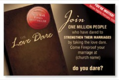 The Love Dare Book Postcard