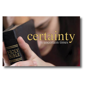 Certainty Postcards