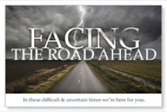 The Road Ahead Postcard