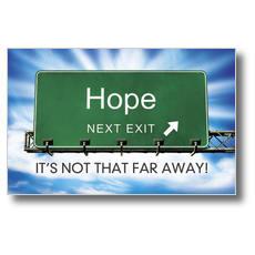 Hope Exit Postcard