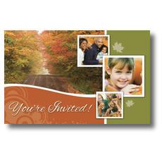 Fall Path Postcard