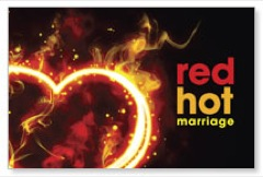 Red Hot Marriage Postcard