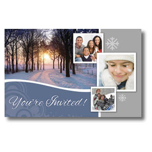 Winter Path Postcards
