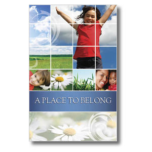 Belong Summer Church Postcards