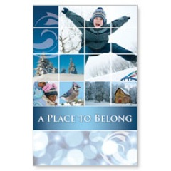 Belong Winter Postcard
