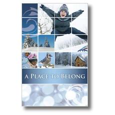 Belong Winter Postcard