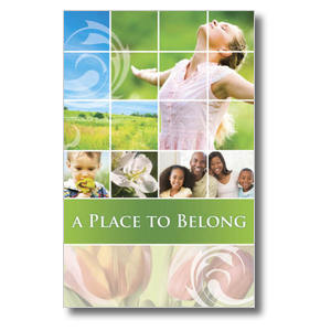 Belong Spring Church Postcards