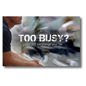 Too Busy Postcards