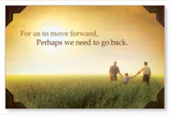 Move Forward Postcard