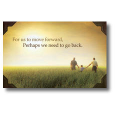 Move Forward Postcard