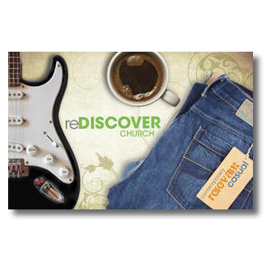 ReDiscover Church Coffee Postcards