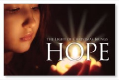 Light Brings Hope Postcard