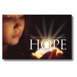 Light Brings Hope Postcards