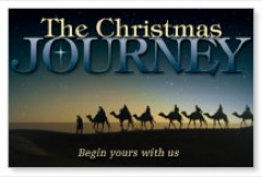 Christmas Journey Postcard