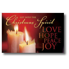 Christmas Spirit Postcard