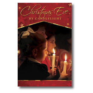 Christmas Eve Candles Postcards