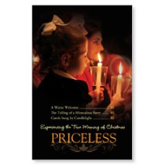Priceless Christmas Church Postcards