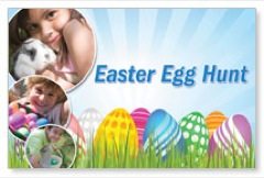 Free Egg Hunt Postcard