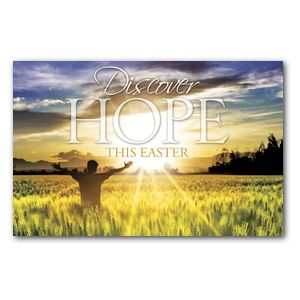 Easter Hope Field DIY Postcard Packs