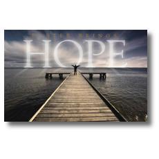 Easter Hope lake Postcard
