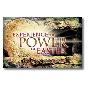 Experience Easter Power Postcards