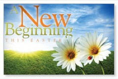 Easter new Beginning Postcard