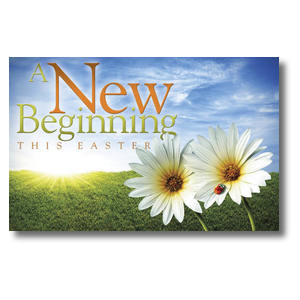 Easter New Beginnings Postcards