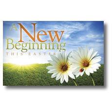Easter New Beginnings Postcard