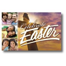 Easter Celebrate Postcard