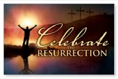 Celebrate Resurrection Postcard