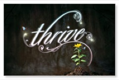 Thrive Postcard
