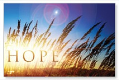 Hope for Tomorrow Postcard