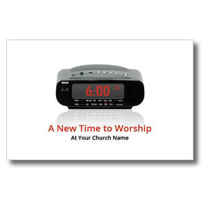 New Time to Worship Postcards