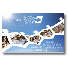 Church Postcards - Outreach: Church communication and marketing tools