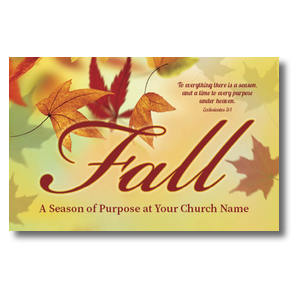 Season Purpose Fall Postcards
