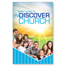 reDiscover Church: BTC Invited Postcard