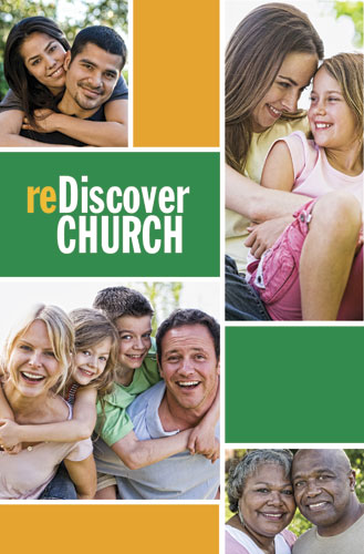 reDiscover Church:People Postcards