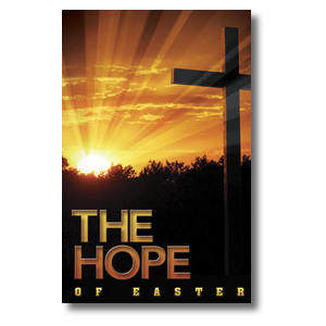 Easter Hope Cross Church Postcards